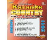 Chartbuster Karaoke CDG CB60455 - Country Hits of the Month January 2011