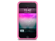 (Hot Pink) iPhone 4th Generation Case - Mivizu Silicone Skin cover case for iPhone 4G 16GB / 32GB + MiniSuit Microfiber Key Chain + Screen Protector