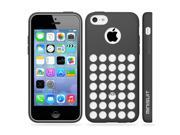 Minisuit TPU Holes Design Case Cover for iPhone 5C (Black)