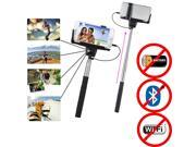 Minisuit Selfie Stick Battery-Free for Apple & Android Earphone Jack Connector (iPhone 5S and Below)