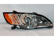 TYC 20-9017-00-1 Passenger Side Replacement Headlight For Subaru Legacy