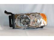 TYC 20-6234-00 Driver Replacement Headlight For Dodge Ram 2500 Ram 1500 Ram 3500