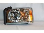 TYC 20-6588-00-1 Driver Side Replacement Headlight For Dodge Dakota