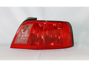 TYC 11-5927-00 Passenger Side Replacement Tail Light For Mitsubishi Galant