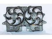 TYC 620660 Engine Cooling Fan Assembly New