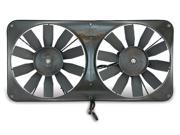FAN ELECTRIC 11 DUAL SHROUDED PUSHER OR PULLER W O CONTROLS
