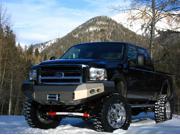 Fab Fours FS05-A1251-1 Premium Heavy Duty Winch Front Bumper
