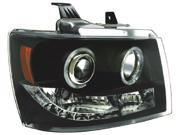 IPCW Projector Headlight CWS-311B2 07-10 Chevrolet Avalanche 07-10 Chevrolet Suburban / Tahoe Black