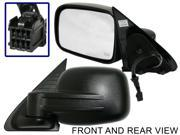 JEEP LIBERTY 02-07 SIDE MIRROR LEFT DRIVER, POWER, HEATED, FOLDING, KOOL-VUE