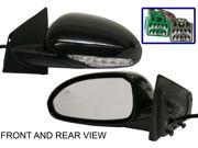 BUICK ENCLAVE 08-12 SIDE MIRROR LEFT DRIVER, POWER, HEATED, LIGHT FOLDING