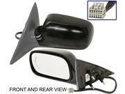 CADILLAC DTS 06-08 SIDE MIRROR LEFT DRIVER, POWER, HEATED, KOOL-VUE, NEW!