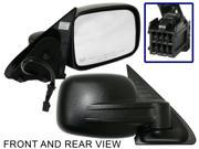 JEEP LIBERTY 02-07 SIDE MIRROR RIGHT PASSENGER, POWER, HEATED, FOLDING, KOOL-VUE