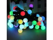 50 RGB Ball LED Color Changing with 16 Feet String Christmas Xmas Wedding Light - 5M