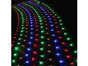 4.5M*1.5M - 300 LED Net Mesh Fairy Lights Lighting Christmas Xmas Wedding Party Lights Tree-wrap RGB Multi-Color - Linkable