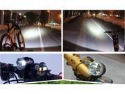 4000Lm 3X CREE XM-L T6 LED Head Front Bicycle Lamp Bike Light Headlamp Headlight