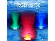 558 LED UNDERWATER SWIMMING POOL LIGHT Fountains lamp pond light RGB 5 OLOURS & REMOTE CONTROL