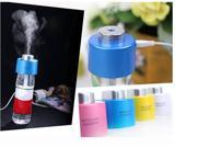 USB Portable Mini Water Bottle Cap Humidifier DC 5V Office Air Diffuser Mist Maker