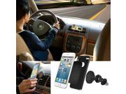 AGPtek Magnetic Car Mount/Air Vent Phone Holder Universal Auto Dashboard Smartphone Stand for Cell Phones, iPhone, GPS, MP3 Players - Black