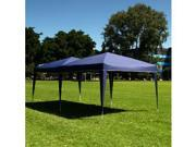 Palm Springs 10 x 20 EZ POP UP BLUE Canopy New Gazebo  NO Sidewalls