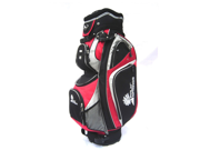 PALM SPRINGS GOLF 14 Divider Cart Bag - Red 9SIA1M12NE0809