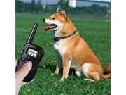 GPCT 250 LCD 100LV Level Shock Vibra Remote Pet Dog Training Collar for 10lb-120lb