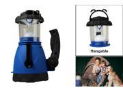 Super Bright Outdoor  5 High LEDs  Spotlights & Camping Lantern Hand Crank&Car Charging Powered w/ Free Gift: Car Adaptor!