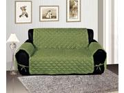 Sage Micro Suede Reversible Pet Protector Furniture Cover Sofa Slipcover
