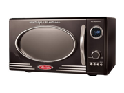 "Nostalgia Electrics 9-cu. ft. Retro Seriesâ""¢ Microwave Oven, Black"
