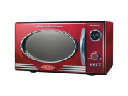 Nostalgia Electrics 9-cu. ft. Retro Series™ Microwave Oven, Red