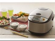 Zojirushi 10-c. Stainless Steel Micom Rice Cooker 9SIA63W2BA4120