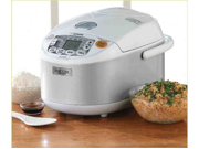ZOJIRUSHI NS-YAC10 Pearl White Umami Micom Rice Cooker & Warmer 9SIA63W2BA4118