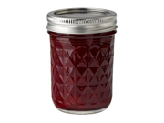 Ball® Set of 12 Quilted Crystal Half Pint (8-oz.) Jelly Jars