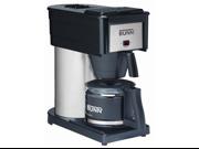 BUNN BXB Velocity Brew 10-Cup Home Brewer, Black 9SIV0822KM5571