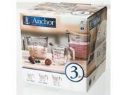 Anchor Hocking 3-pc. Measure Set 9SIV04Z20Y8872