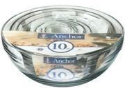 Anchor Hocking 10-pc. Mixing Bowl Set 9B-0D1-001T-00008