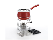 Rachael Ray 2 qt. Stainless Steel II Fondue Set Red