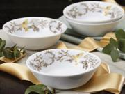 BonJour Set of 4 Fruitful Nectar Fruit Bowls