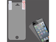 Grey/Smoke LCD Screen Cover Protector Film with Cloth Wipe for iPhone 5 5S 5C