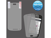 2x LCD Screen Cover Protector Film with Cloth Wipe for Samsung Galaxy S Relay 4G