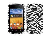 Zebra Skin Design Snap on Case +Screen Protector For Imperial N9101