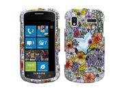 For i917 Focus Flower Shop Hard Snap On Phone Protector Cover Case