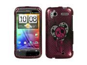 For Sensation 4G I Heart Rock (2D Silver) Sparkle Phone Protector Cover 9SIA1MR5CB0281