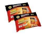 Grabber Warmers Grabber Big Pack Hand Warmers , 10 Pair Hand Warmer Foil Pack , 10-Count (Pack Of 2) -