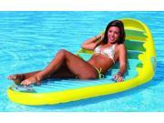 Sportsstuff 54-1660 Banana Beach Lounge 1 Person Pool/Water Float - Sportsstuff