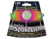 SpokeLit - LED Bike Light and Safety Flasher for Spokes- Disc-O (NI-SKL-03-07) -