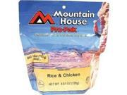 MOUNTAIN HOUSE RICE & CHICKEN PRO-PAK MEAL - O/S - N/A - Mountain House