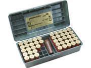 Mtm 50 Round Shotshell Handled Case (12 Gauge, Wild Camo) - Shotshell 50Rnd Wild Camo 12Ga