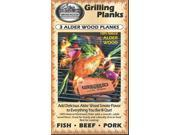 Smokehouse Alder Grilling Plank 3 Pack 97980010000 (Outdoor Recreation/Outdoor Recreation)