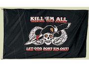 """""""""""Kill 'Em All"""""""" Flag -"""" 9SIA1N63M18811"""