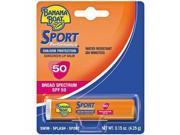 Banana Boat Sunscreen Sport Performance Broad Spectrum Sun Care Sunscreen Lip Balm - SPF 50, 0.15 Ounce (Pack of 24) - B